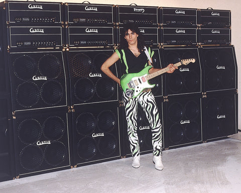 Steve Vai with X100B Stacks