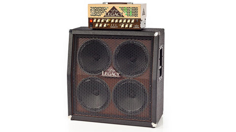 Carvin Steve Vai Legacy 4x12 half stack with celestion vintage 30 speakers