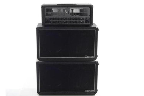 stacked VX212 two 12-inch cabinets with V3 head