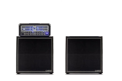 2x Vx412T slant four 12-inch cabinets and the 100W tube V3 head