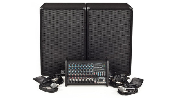 Carvin Audio XP1000L-1503 Powered Sound System Package