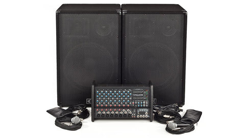 Carvin Audio XP1000L-153 Powered Sound System Package