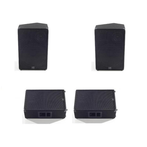 500W main and monitor system with the XP800L and LS153 3-way speakers