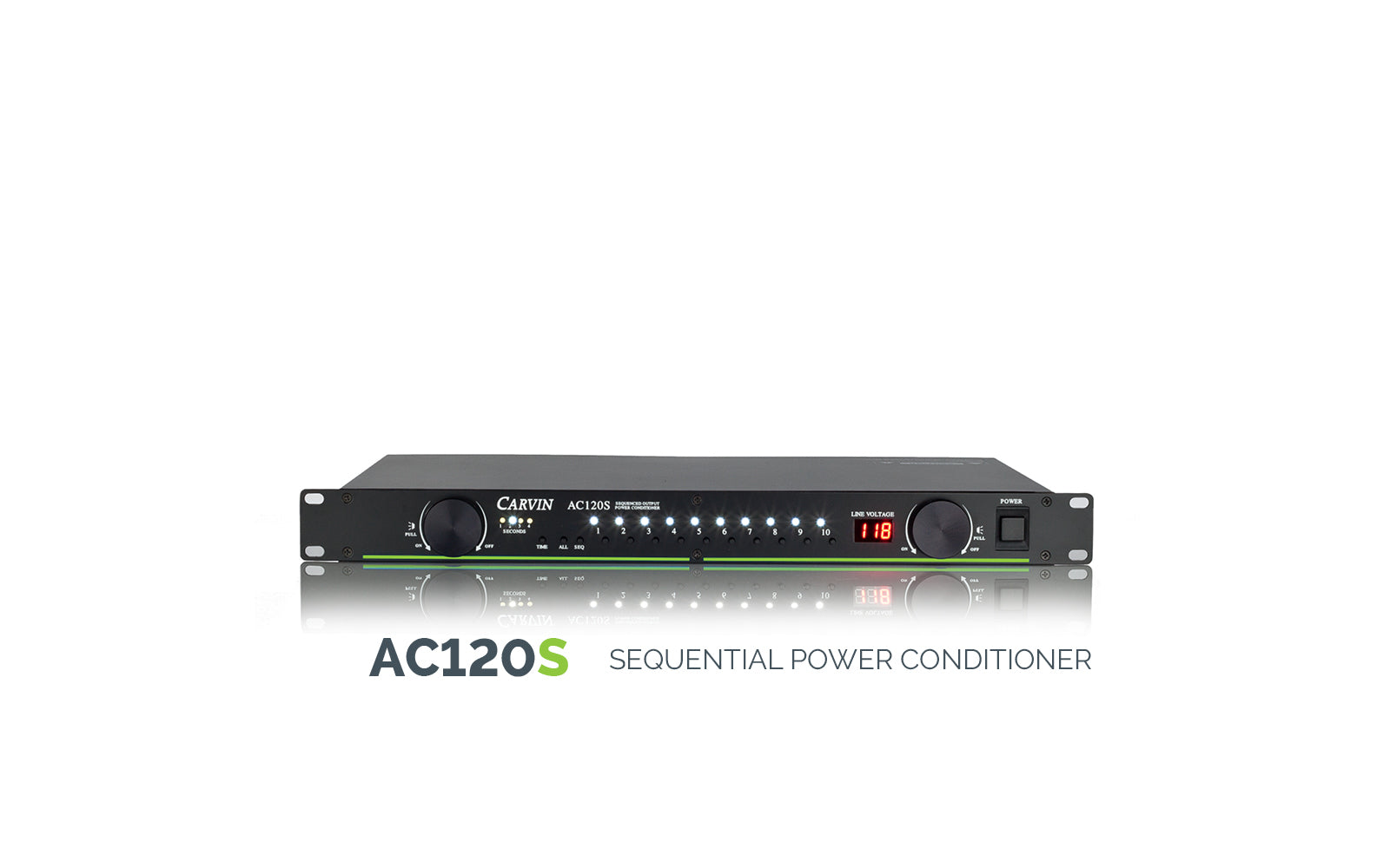Carvin AC120S Sequential Power Conditioner