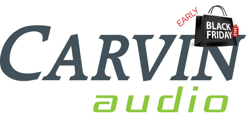 carvin audio early black friday sale starts now