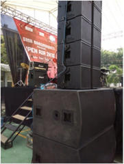 Stacked Line Array