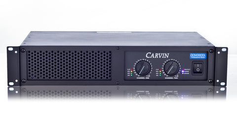 carvin dcm3800l 3800w power amplifier