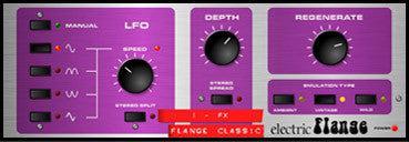 Electric Flange- I Live QU FX & Processing from Allen&Heath for the QU Series Digital Mixing Consoles