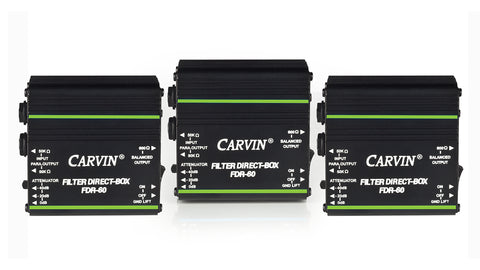 carvin fdr60 filter direct box 3 pack
