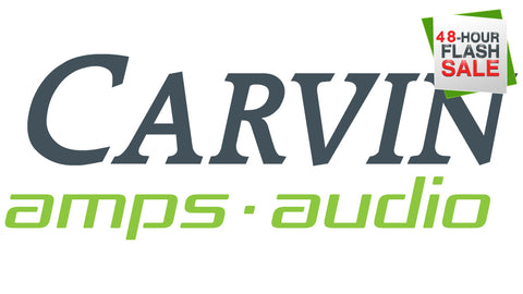 carvin 48 hour flash sale. save on pro audio and wireless systems
