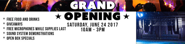 Carvin Audio Grand Opening