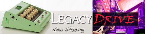 Legacy Drive Now Shipping