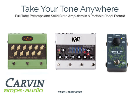 Carvin Preamp Pedals