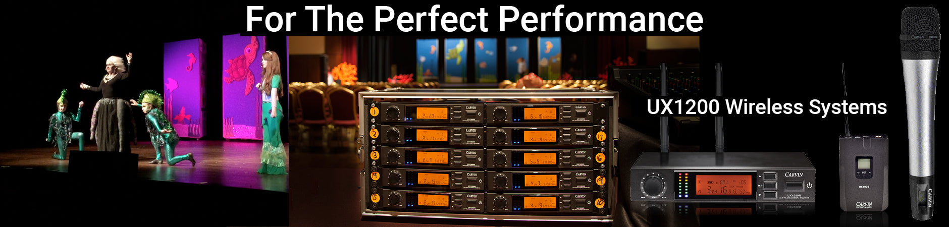 ux1200 wireless systems give the perfect performance