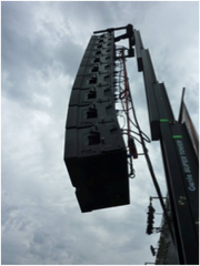 Flown line array