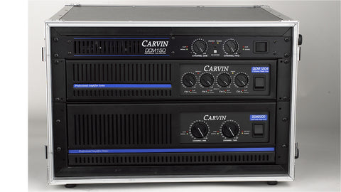 Carvin Audio 6 space road case for amplifiers and processing gear