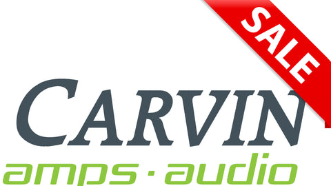 carvin amps and audio gear on sale now