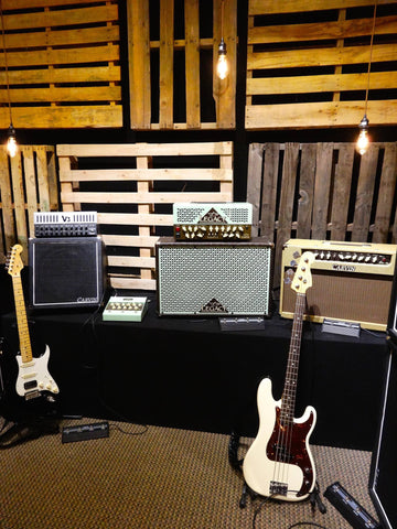 Carvin Audio Guitar Amp Demo Room