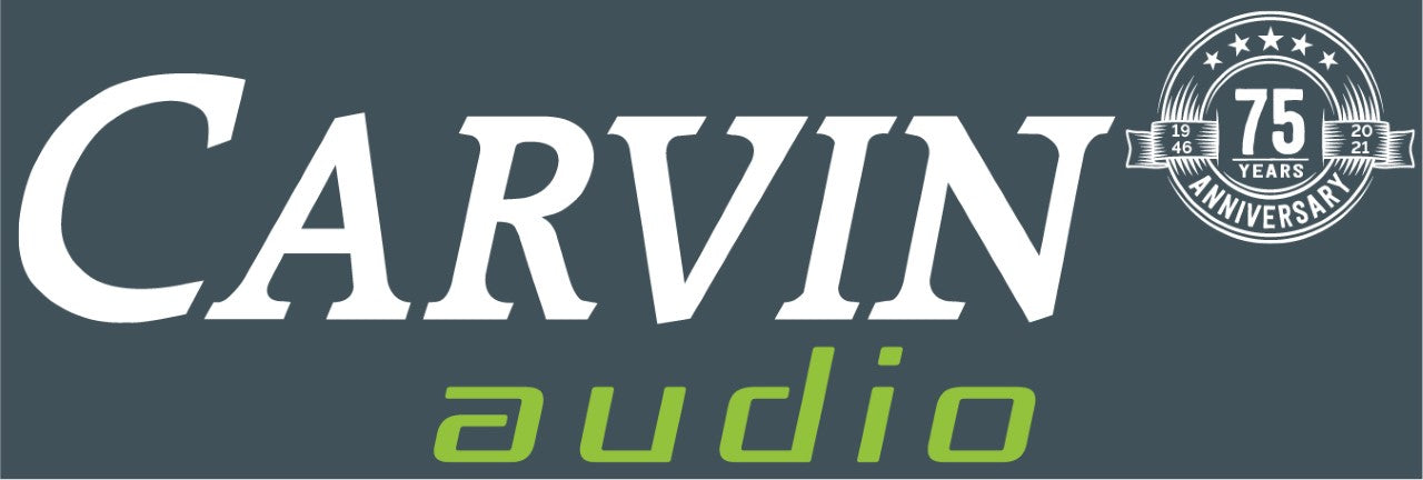 Carvin Audio 75th Anniversary Logo