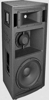 Carvin Trx2153a 15 Inch 3 Way 2500w Active Main Loudspeaker