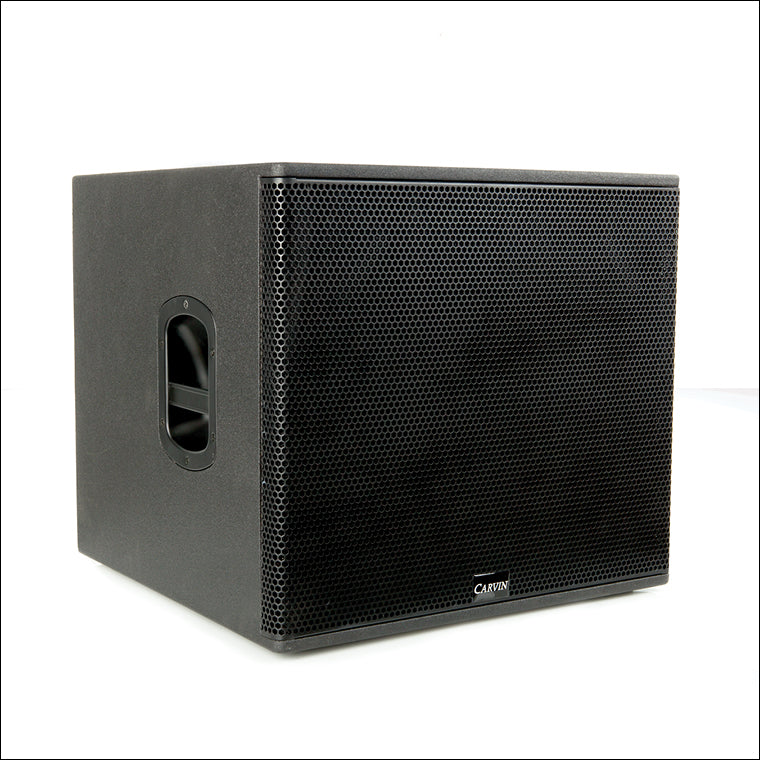 carvin trx3118a active powered 18-inch subwoofer