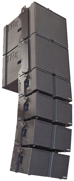 TRx3118A and TRx3210A line array system