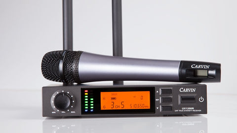 UX1200MC Wireless Handheld Microphone System