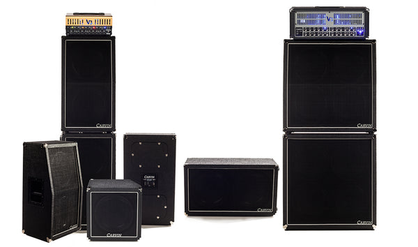 Carvin VX Series Birch guitar cabinets with dual porting