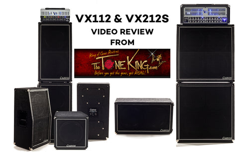 VX Series Guitar Cabinets Review by The Tone King