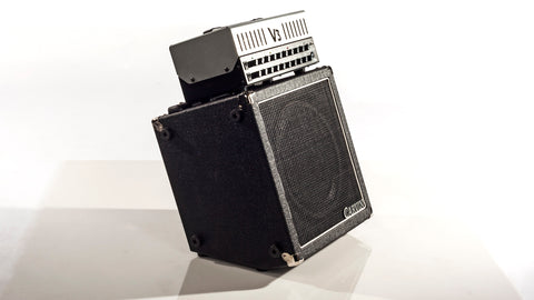 VX112 single 12-inch cabinet with V3m 50 tube head.