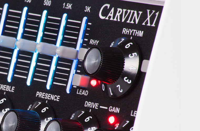 carvin x1 all tube preamp guitar pedal. Black Bedroom Furniture Sets. Home Design Ideas