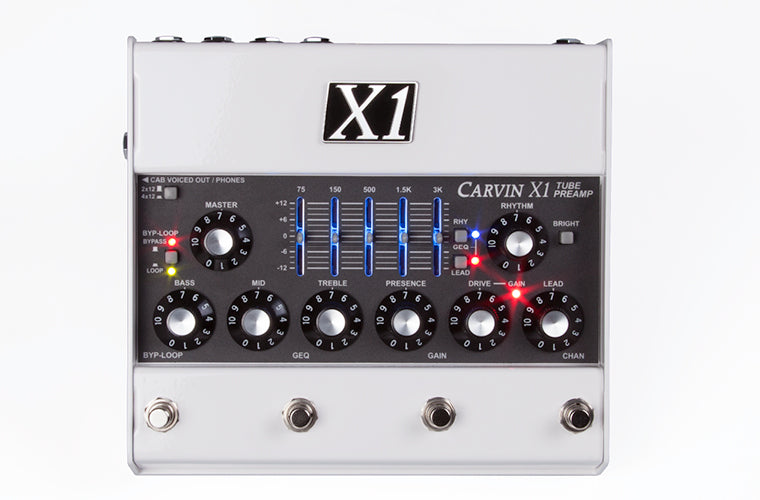 Carvin X1 All Tube Preamp Guitar Pedal