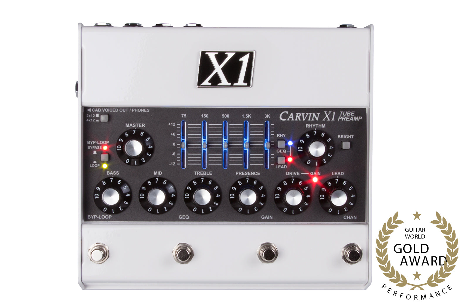 Carvin X1 Tube Guitar Preamp Pedal