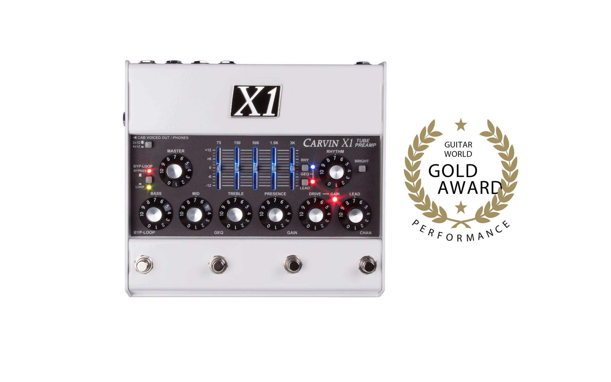 Carvin Amps And Audio Gear For Musicians Sound Professionals 300w High Power Amplifier Circuit Schematic Electronics X1 Tube Preamp Wins Gold Award