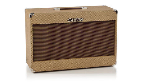 200W Dual 12-inch vintage guitar cabinet