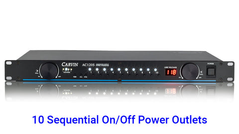 AC120S - Power Conditioner/Sequencer