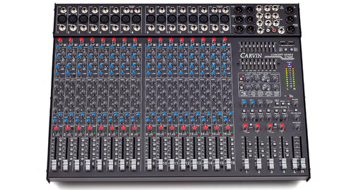 C1648P 16 Channel Powered 2000W 4-Bus Mixer w/ 8 Ch Sends, 4 Band Ch EQ