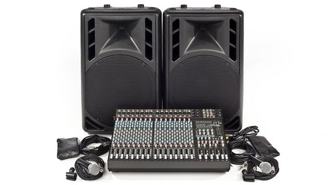 C1648P-PM15 Complete PA System