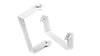Carvin PM5-UW U Bracket for PM5 Monitor- White (1 PAIR) Side and Rear