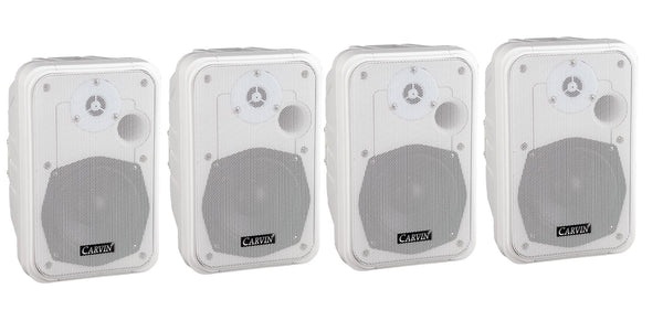 PM5-W-4 Four PM5-W White Loudspeakers