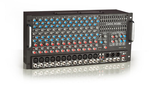RX1200R Non-Powered 12 Channel Rackmount Stereo Mixer