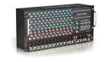 RX1200R Non-Powered 12 Channel Rackmount Stereo Mixer Angled Front