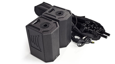 S600B-2 Battery Powered 400W(Stereo) Portable Column Array System Package