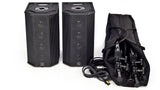 S600B-2 Battery Powered 400W(Stereo) Portable Column Array System Package Front