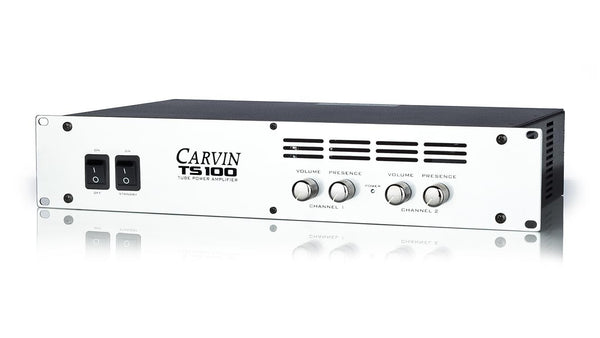 Ts100 100w Tube Power Amp Carvin Audio