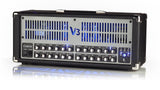 V3 100W 3 Channel All Tube Amp w/ LED Backlighting & Reverb Blue