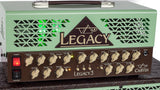 VL3212G Legacy 3 Mini Stack Green Close Up Amp Top