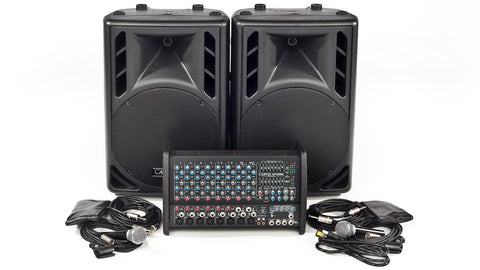 XP1000L-PM12 8 Channel PA System