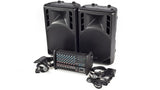 XP1000L-PM15 8 Channel PA System