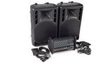 XP1000L-PM15 8 Channel PA System Top Angle
